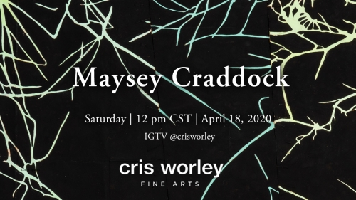 CWFA Artist Conversation Series: Maysey Craddock