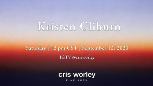 CWFA Artist Conversation Series: Kristen Cliburn