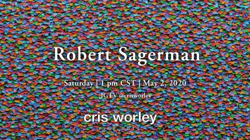 CWFA Artist Conversation Series: Robert Sagerman