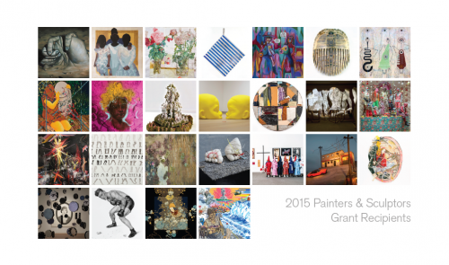 Celia Eberle Recipient of the Painters and Sculptors Grant, presented by the Joan Mitchell Foundation