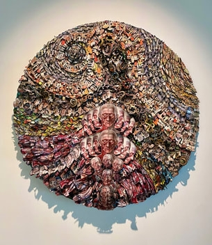 """Patrick Turk: """"The Superorganism: Concrescence"""" at the Pearl Fincher Museum of Fine Arts"""