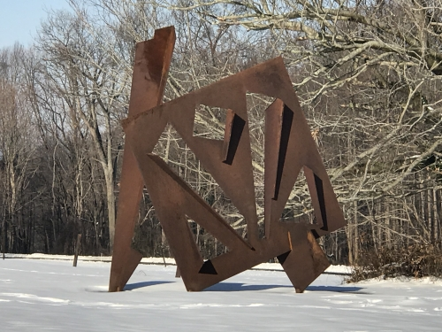 """Joel Perlman's """"Dreadnought"""" at the Nassau County Museum of Art"""