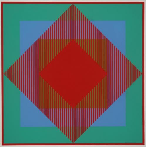 Richard Anuszkiewicz, 60s op art