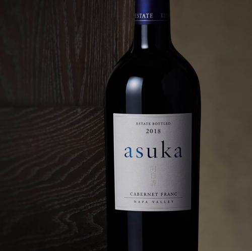 red wine asuka cabernet franc Napa Valley