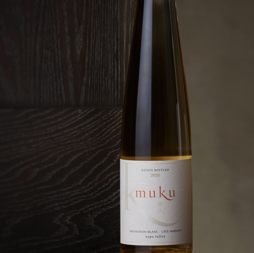 Kenzo Estate half-bottle muku sweet Late Harvest Sauvignon Blanc Napa Valley white wine