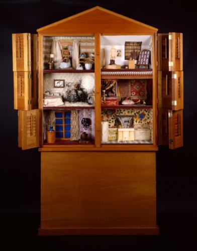 Miriam Schapiro in Women House: 36 Women Artists Deconstruct Domesticity