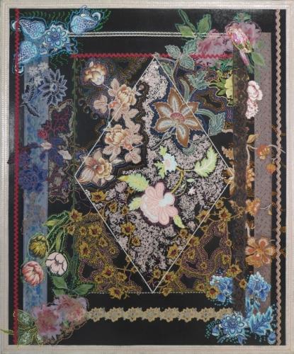 Miriam Schapiro in Handmade: Women Reshaping Contemporary Art
