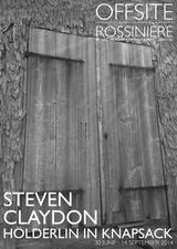 Steven Claydon: Holderlin In Knapsack at Offsite Rossinière