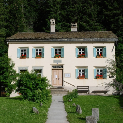 ALBRECHT SCHNIDER EXHIBITION AT NIETZSCHE-HAUS