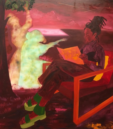 Dominic Chambers exhibition at the August Wilson African American Culture Center