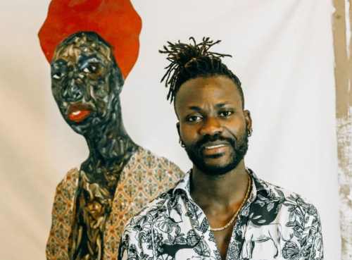 Amoako Boafo Is Navigating Art-World Success While Lifting up the African Diaspora