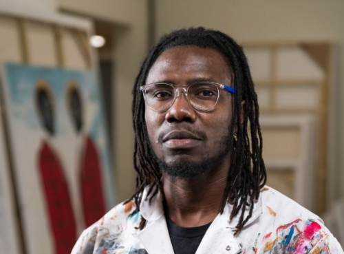 He Used to Work for FedEx. Now, Artist Otis Kwame Kye Quaicoe Is at the Forefront of the Next Generation of West African Art Stars