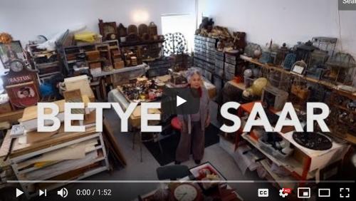 Betye Saar LA Times Studio Tour