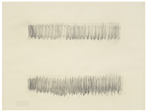 Image of Robert Morris, Blind Time (XXXVIII), 1973