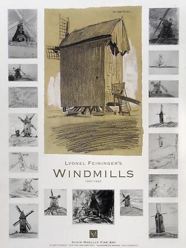 Lyonel Feininger's Windmills 1901-1921