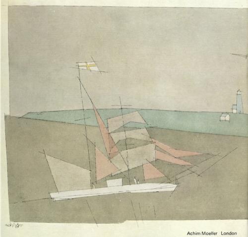 Lyonel Feininger. Visions of City and Sea: Watercolours, Drawings, Paintings