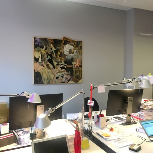 ART IN THE OFFICE