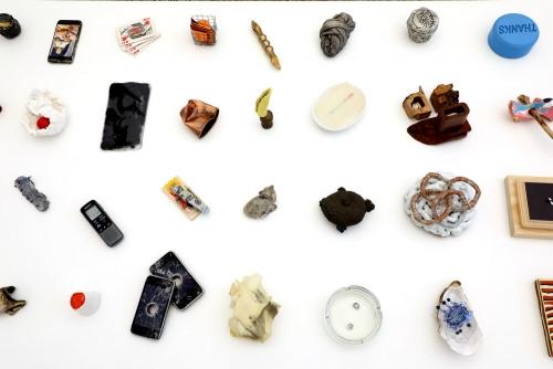 100 Sculptures at No Gallery, Los Angeles