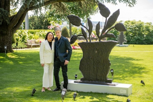 Art in the Park XVI featuring Donald Baechler