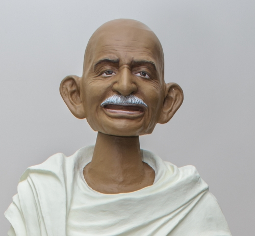 Two exhibitions in the US explore the legacy and fragility of Gandhi