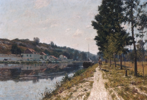 Banks of the Loing, ca. 1894–97