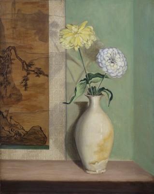 Sung Vase (Zinnias), 1939