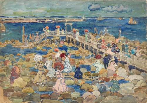 Low Tide, Beachmont, ca. 1900–1905