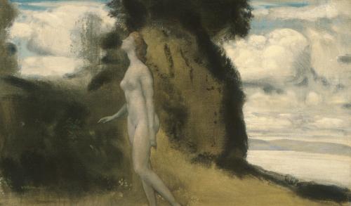 Arthur Bowen Davies, 1862 - 1928, A Measure of Dreams, ca. 1908