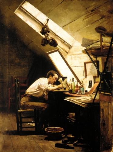 The Etcher, ca. 1887–89