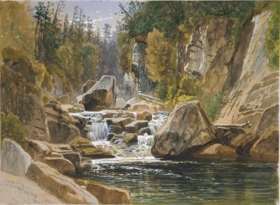 On the Ausable, 1869