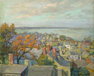 Looking Over Old Marblehead, circa 1928