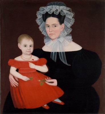 Mrs. Mayer and Daughter, 1835–40