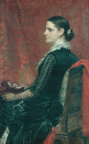 Mrs. Thomas Hicks, ca. 1884
