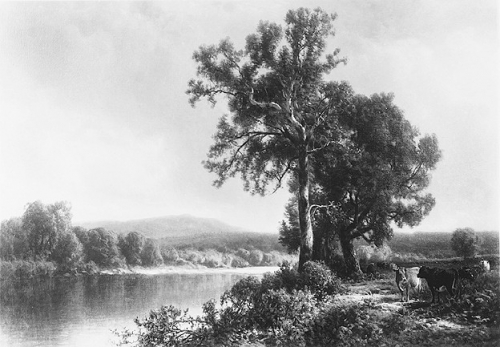 William Hart, Scene at Napanoch