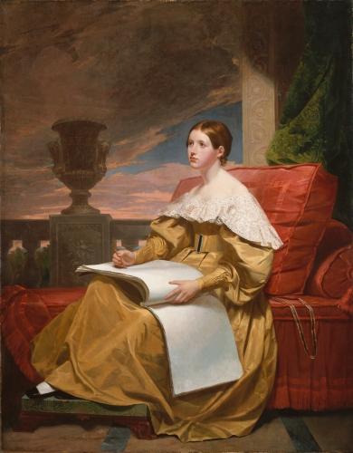 Susan Walker Morse (The Muse), ca. 1836–37