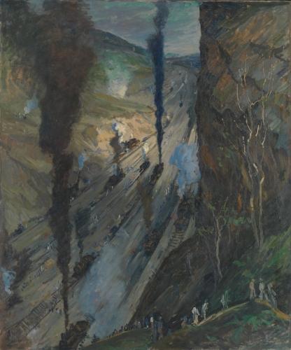 The Conquerors (Culebra Cut, Panama Canal), 1913