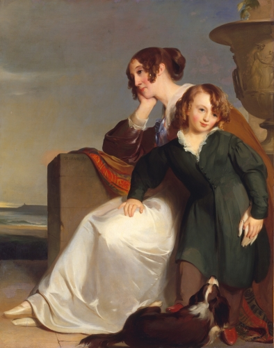 Mother and Son, 1840