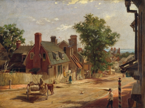 Old Annapolis, Francis Street, 1876
