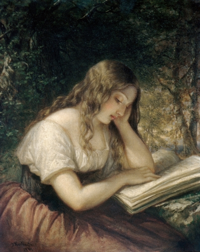 Study in a Wood, 1861