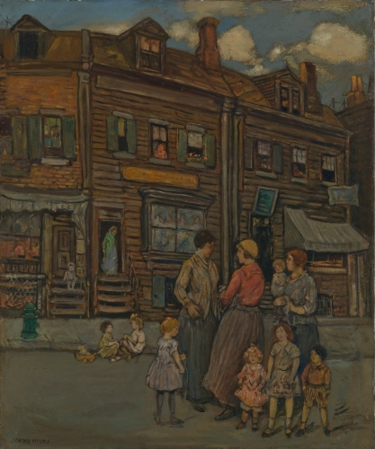 Street Group, ca. 1923