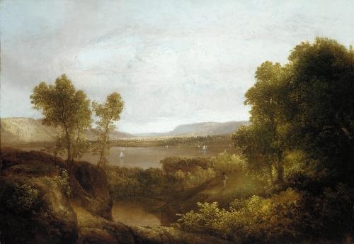 On the Hudson, 1830–35