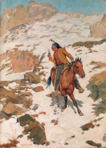 In Hot Pursuit, circa 1900