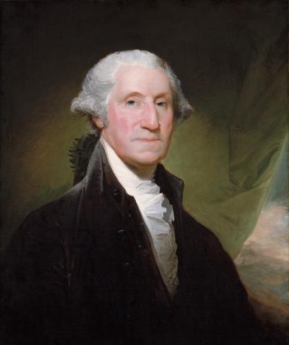 Gilbert Stuart, George Washington, 1795