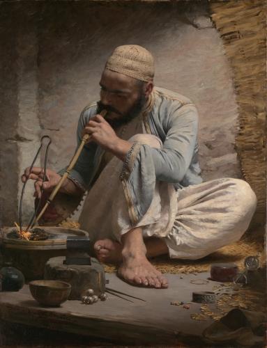 The Arab Jeweler, ca. 1882
