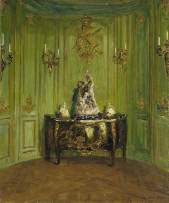 The Green Salon, ca. 1912