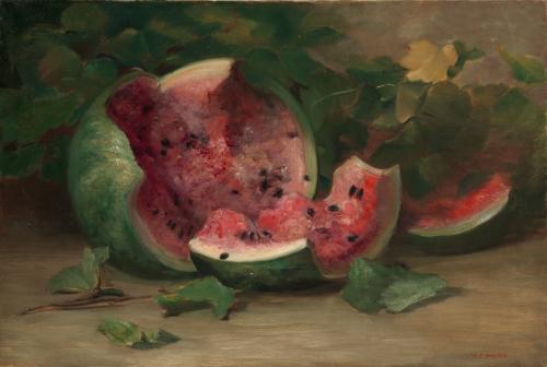 Cracked Watermelon, ca. 1890–95