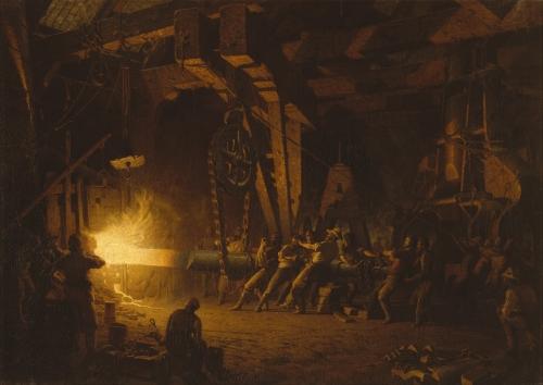 Forging the Shaft, 1874–77