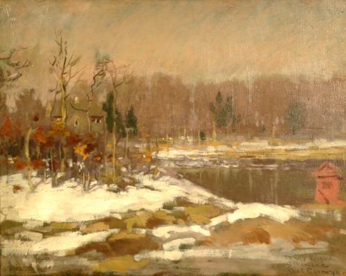 Winter Landscape, circa 1910