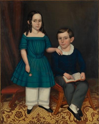 Joseph Whiting Stock, John and Louisa Stock, 1845