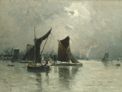 On the Thames, 1883